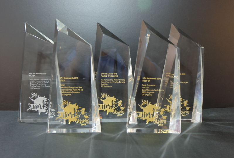 UM Singapore takes 5 awards at the SPH iink Awards including Best of the Best. Congrats! http://t.co/NFEc9OHD2R