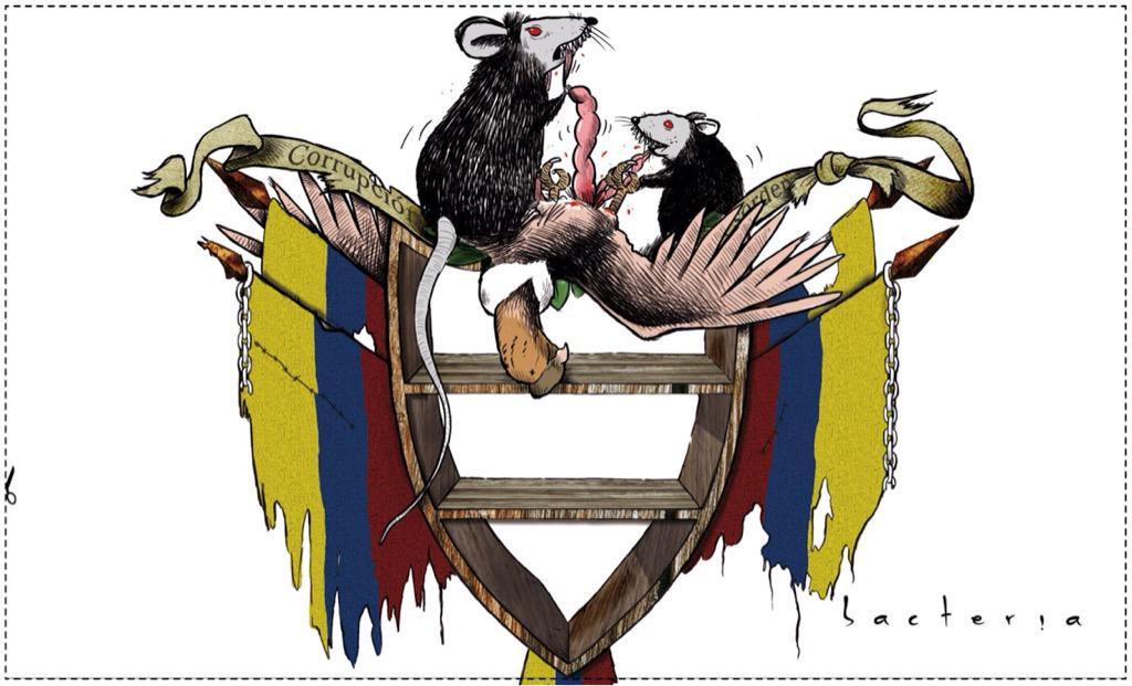 """Las Libretas De Dibujo De 10 Artistas Colombianos: Bacteria On Twitter: """"Que Quieren Cambiar El Escudo De"""