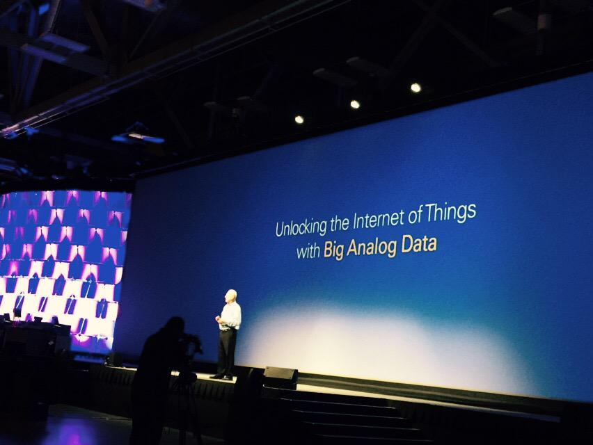 CEO & cofounder Dr. James Truchard's kicking off #NIWeek 2015: unlocking #IoT with Big Analog Data @NIglobal http://t.co/Aw3ByFwMQu