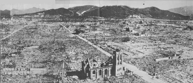 L'apocalisse a Hiroshima per il bombardamento USA
