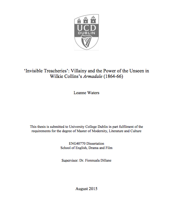 masters thesis ucd