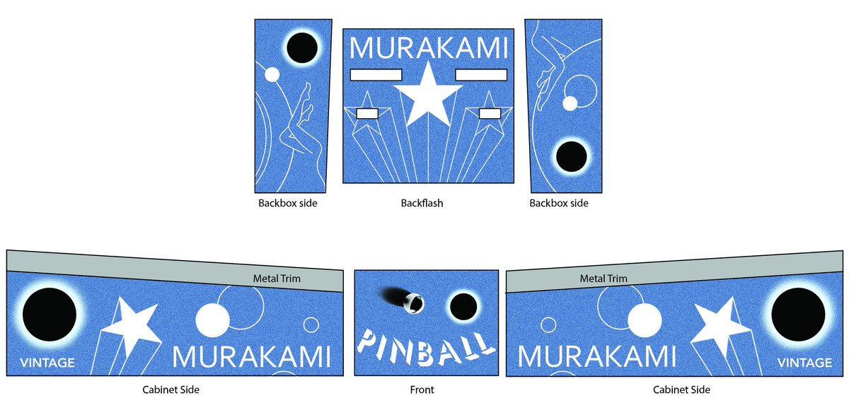 And here's how we did it..... #murakamipinball http://t.co/KMviXos2Wy
