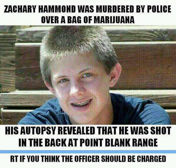 A Cop Killed A White Teen And The #AllLivesMatter Crowd Said Nothing