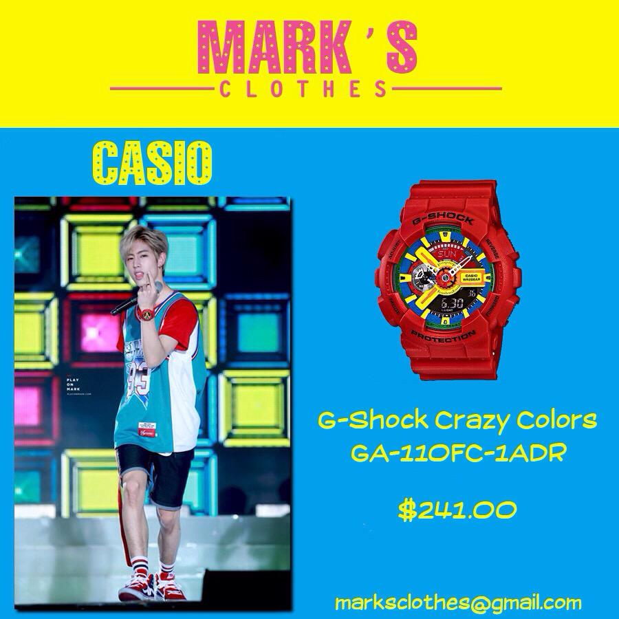 Marks Clothes On Twitter Casio G Shock Crazy Colors Ga 110fc 1adr Cr Pic Play Mark Marksclothes Got7justright Http Tco Gafd8ehoe8
