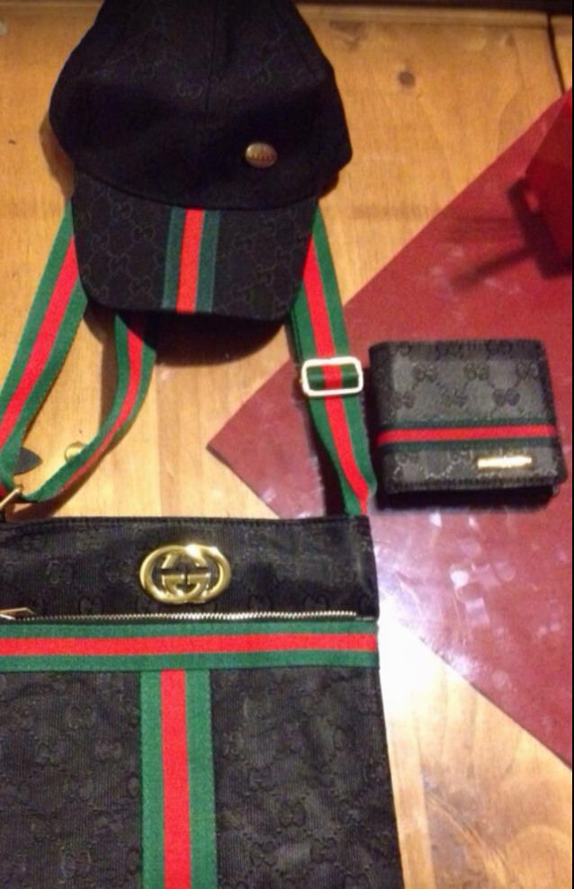 Bolso Gucci Bandolera Negro