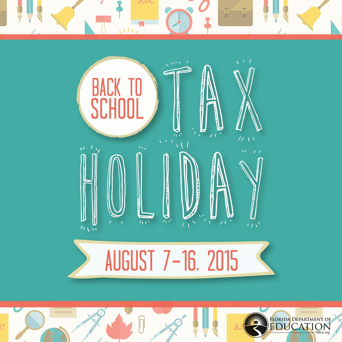 Floridians get your school supply savings during the #Back2School Sales Tax holiday Aug. 7-16! http://t.co/rkH7fKMPHr http://t.co/iSS9wDjb5Q