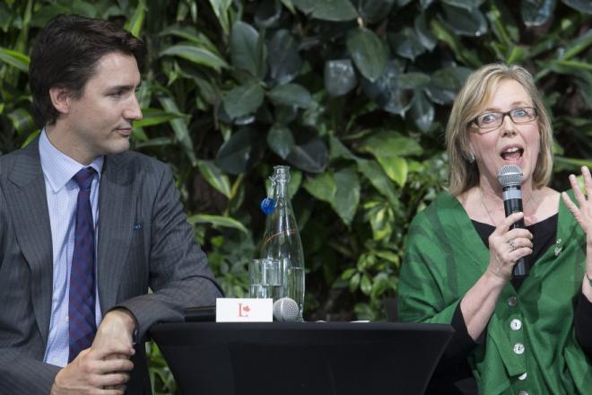 Trudeau, May in for leaders' debate on women's issues, Sept. 21 http://t.co/B5zqxF7mRw #elxn42 #cdnpoli @rachaiello http://t.co/qjuJOPb4A4