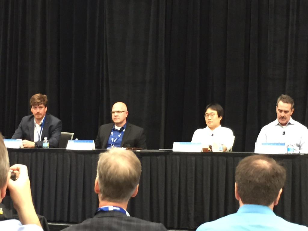 Creating the Internet of Things panel at #NIWeek #IoT #IBM @gregorygorman http://t.co/otHKghZtL4
