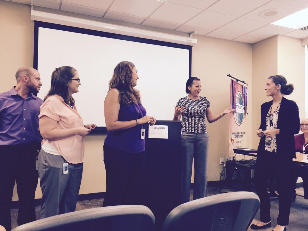 Enjoyed our #wyntern participation  @Toastmasters today @wynvo http://t.co/KlSvLjrdpi
