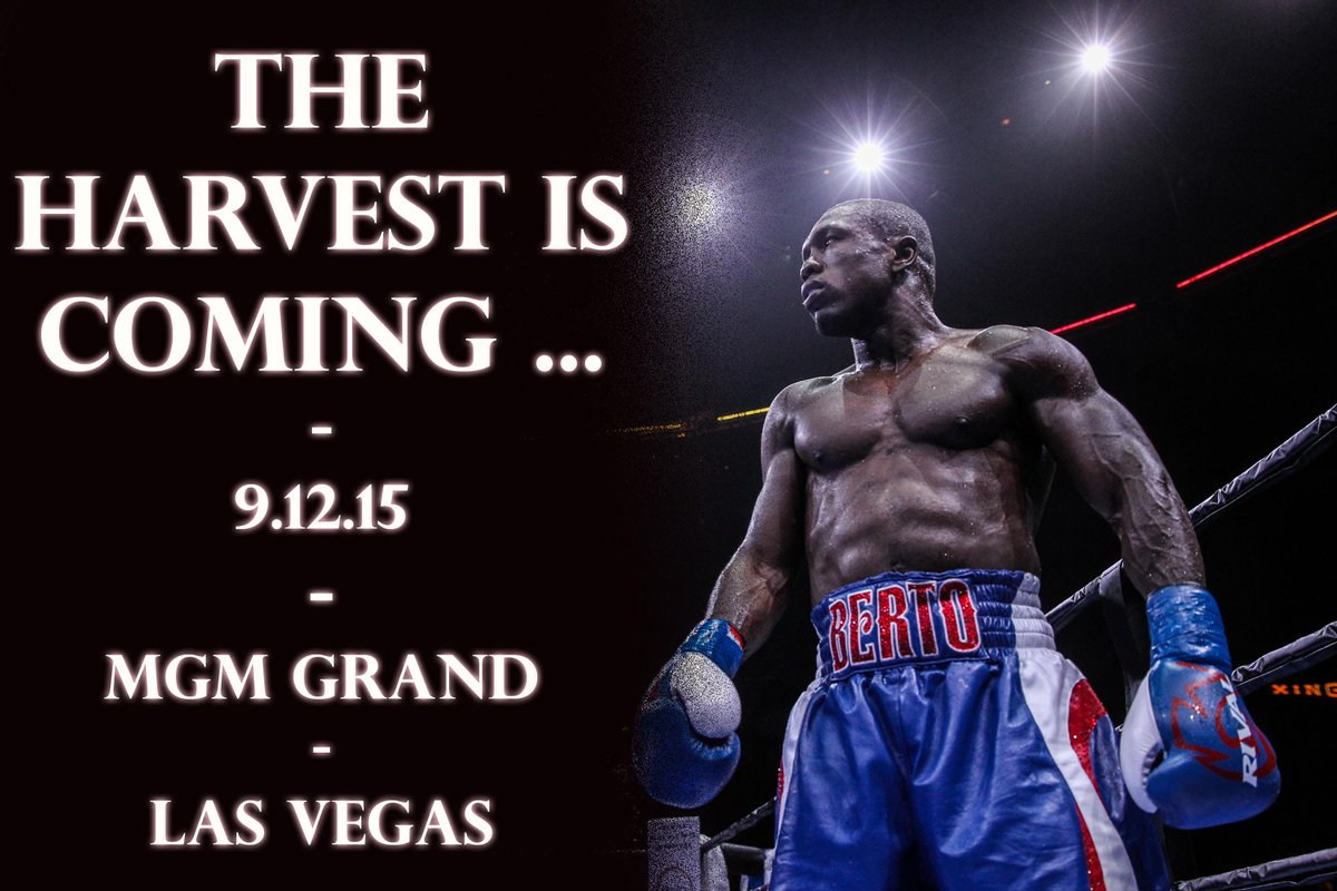 Promise you this, I'm gonna be as ready as I've ever been. Don't act surprised on 9/12. #MayweatherBerto #TeamBerto http://t.co/VR89Fh809p