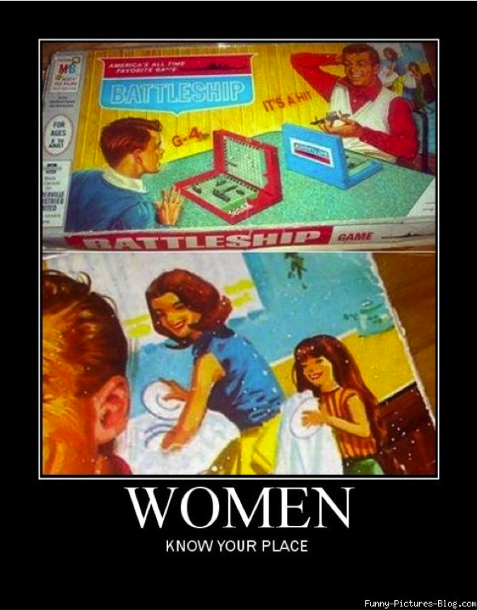Women's stereotypes promoted even on board game boxes. http://t.co/Cl3YPd8VFp