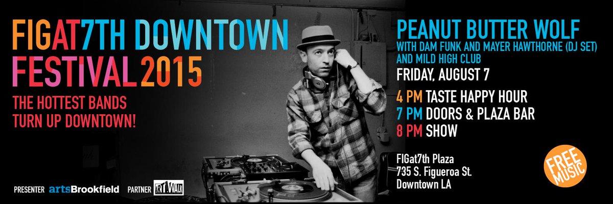 FREE Concert Friday @ #FIGat7th: @pbwolf + @DaMFunK + @MayerHawthorne + @mildhighclub = #CRAZYGOOD via @stonesthrow http://t.co/RLADHRBDQ8