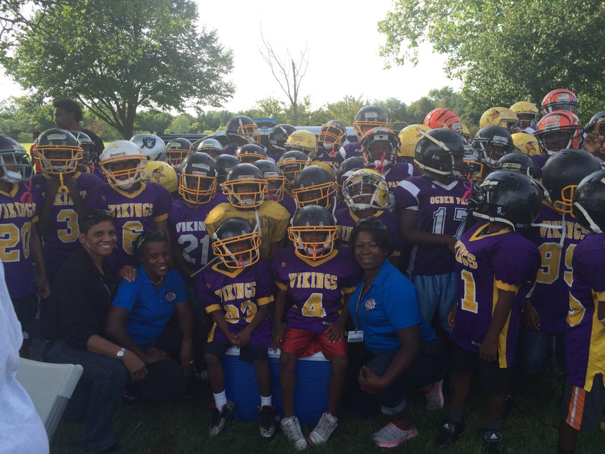 Ogden Park Vikings Football Team . Good in Englewood . http://t.co/nKCaGyHLzm