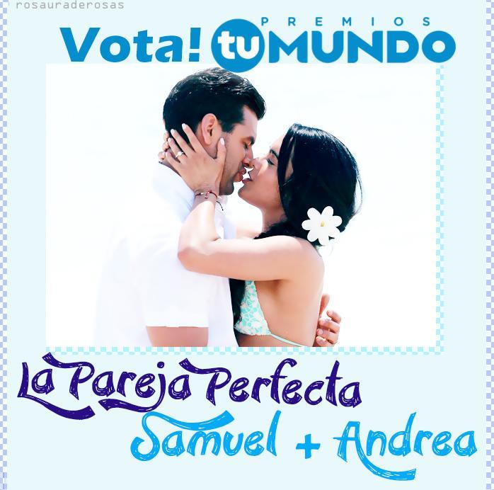 #SamDrea #Chrislet fans! ❤ A votar por #LaParejaPerfecta @ScarletGruber @CHRISDELACAMPA Vota