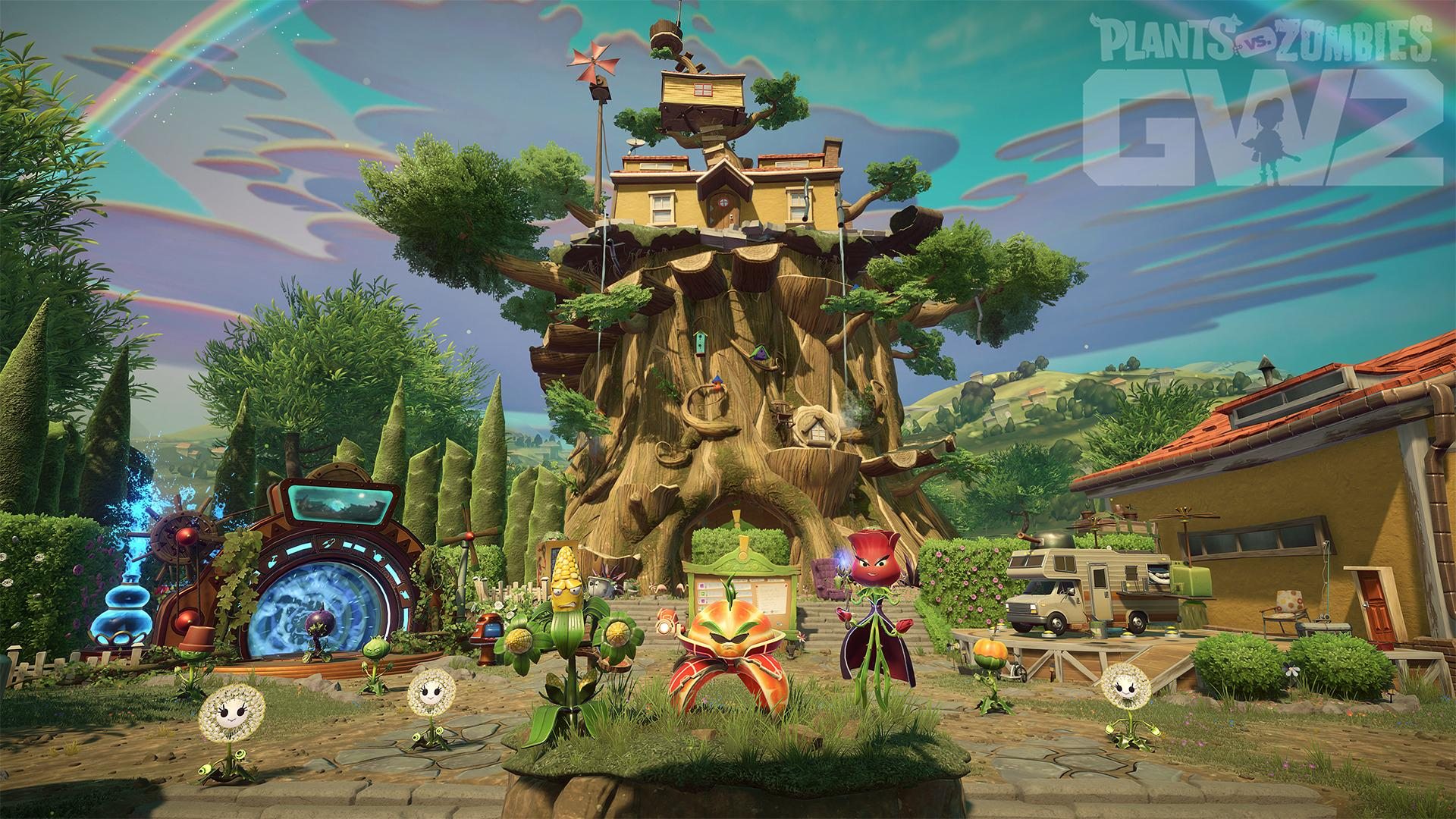 Backyard Battleground coming to Plants vs. Zombies Garden Warfare 2 ...