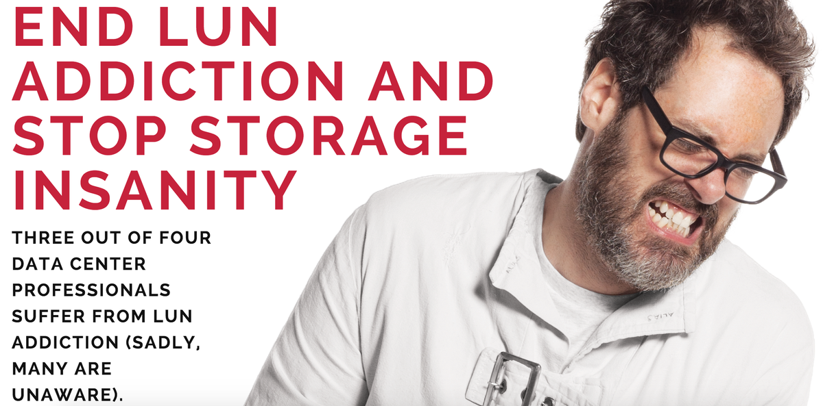 Tintri offers freedom from LUNs. Visit booth 921 at #VMworld to learn more.  http://t.co/czpRwafKmT #StopLUNacy http://t.co/c7ywq3wFIk