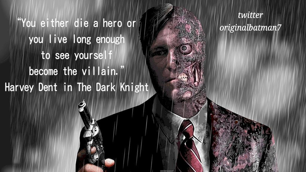 Harvey Two Face Quotes Two Face Batman Quotes Quotesgram 2019 01 18