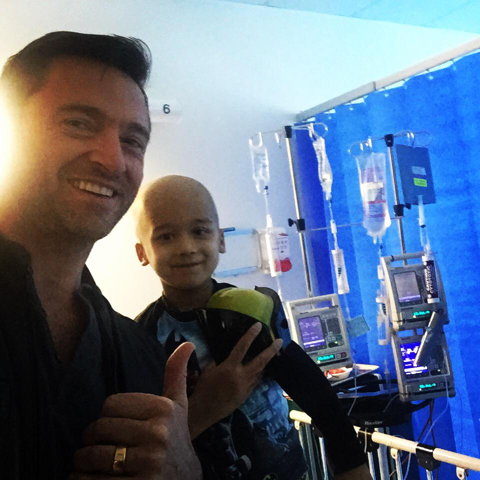 With my mate, Adrian - aka Wolverine. @FightCancerFdn #fightcancer http://t.co/KJKYCMgTlJ