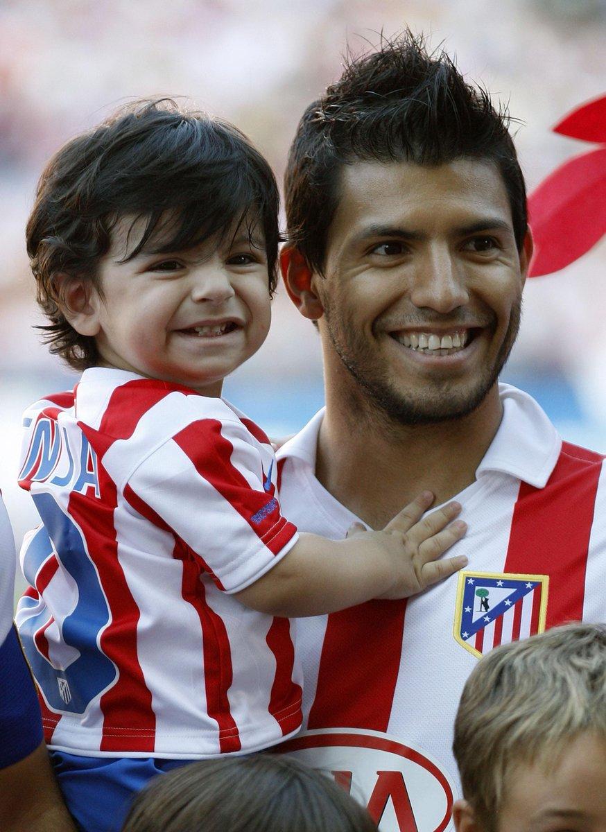 "90min on Twitter: ""Benjamin Aguero, son of Sergio Aguero, grandson to  footballing legend Diego Maradona and godson to Messi. #Nopressure  http://t.co/OfE5vV7Zf1"""