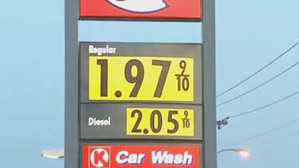 Gas Prices Okc >> News On 6 On Twitter Lower Gas Prices Reported Across Okc