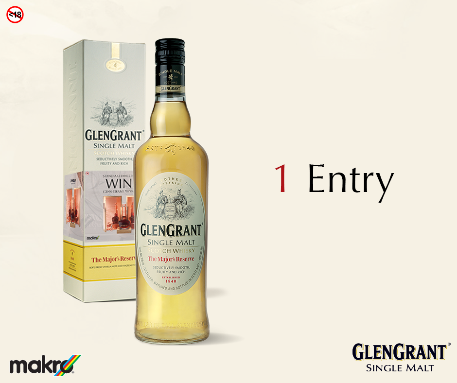 Makro South Africa On Twitter Get 1 Entry Into Our Glengrant50yo Draw When You Swipe Themajorsreserve Clean Crisp Rich