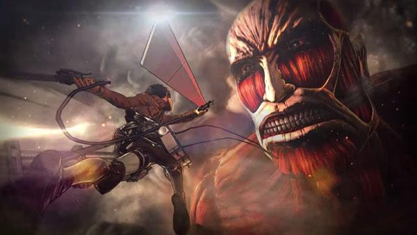 Attack on Titan coming to PS4, PS3 and Vita. There's a trailer too. http://t.co/xR36J1ZobR #attackontitan http://t.co/YSKsnzeUQE