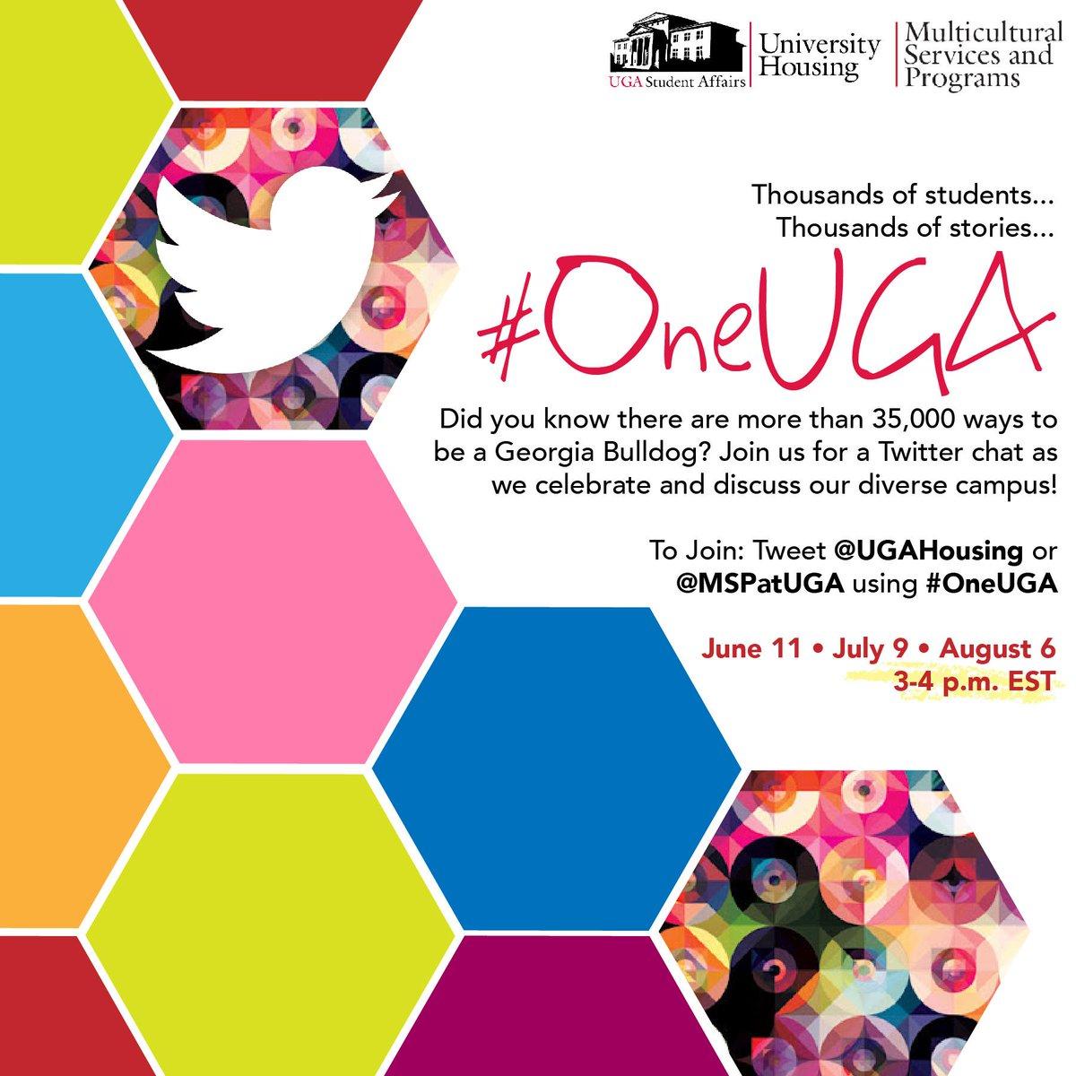 Thumbnail for #OneUGA Chat 08.06.15