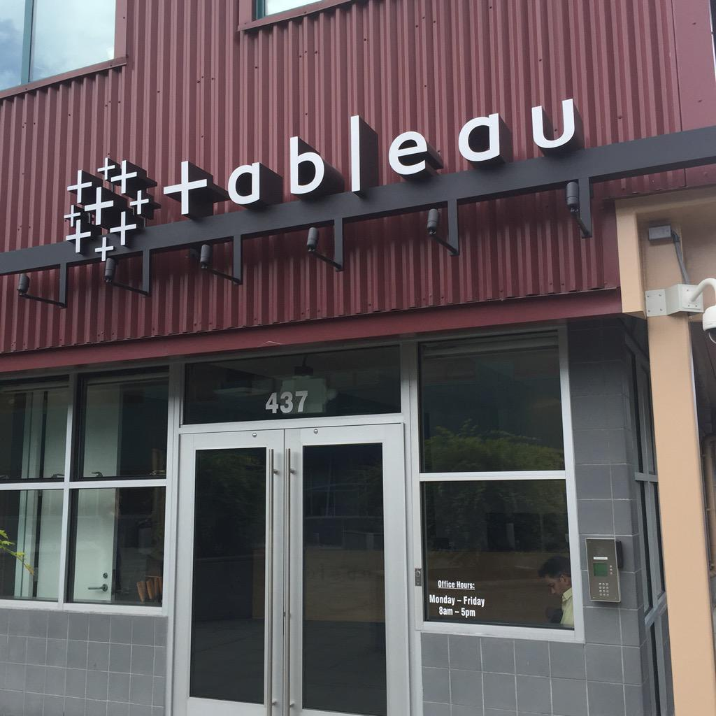 Dan Montgomery On Twitter It S Always A Good Day When Your Meeting Is At The Tableau Headquarters Http T Co Mmoq92d7sm