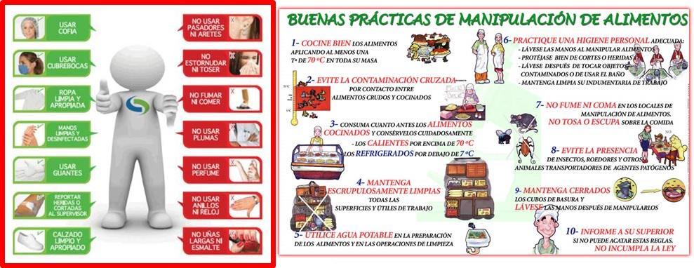 Salud ocupacional on twitter buenas pr cticas de for Buenas practicas de manipulacion de alimentos