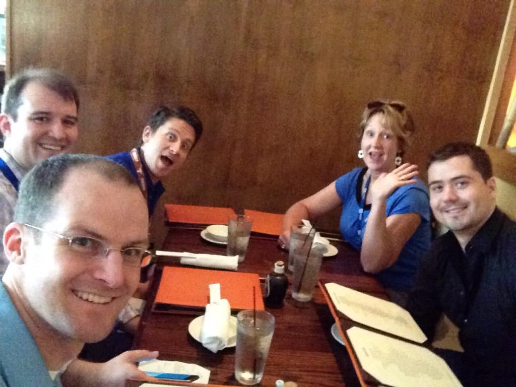Got the band back together again #LabVIEWToolsNetwork #NIWeek http://t.co/KnB2b70eH3