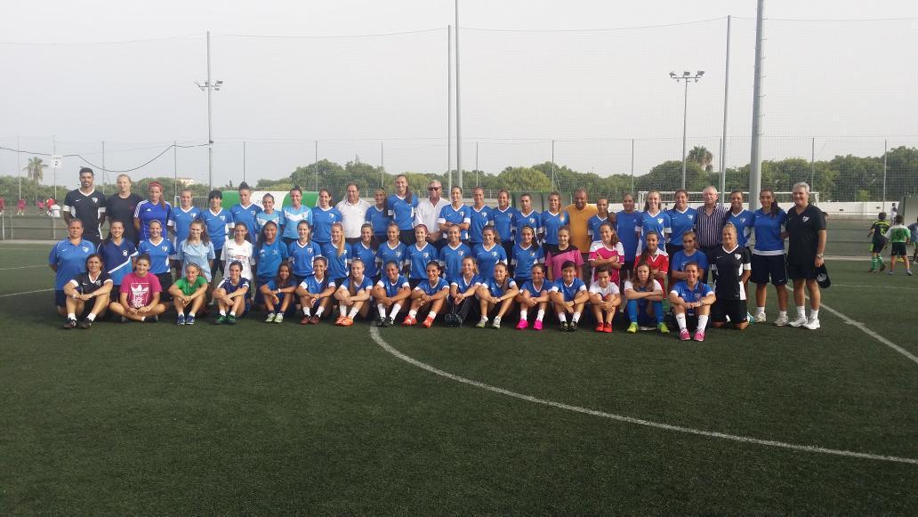 Los equipos femeninos del MálagaCF comienzan su pretemporada 15/16 CLqV6aAWgAEH0wz