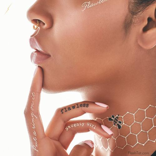 Beyoncé lancia online il suo set di Metal Tattoos