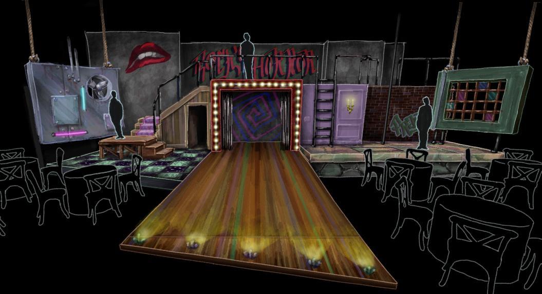 #jfiradio @WarehouseGvl: Scenic rendering for The Rocky Horror Show exposes newly imagined world http://t.co/Hdw5qAAkoF