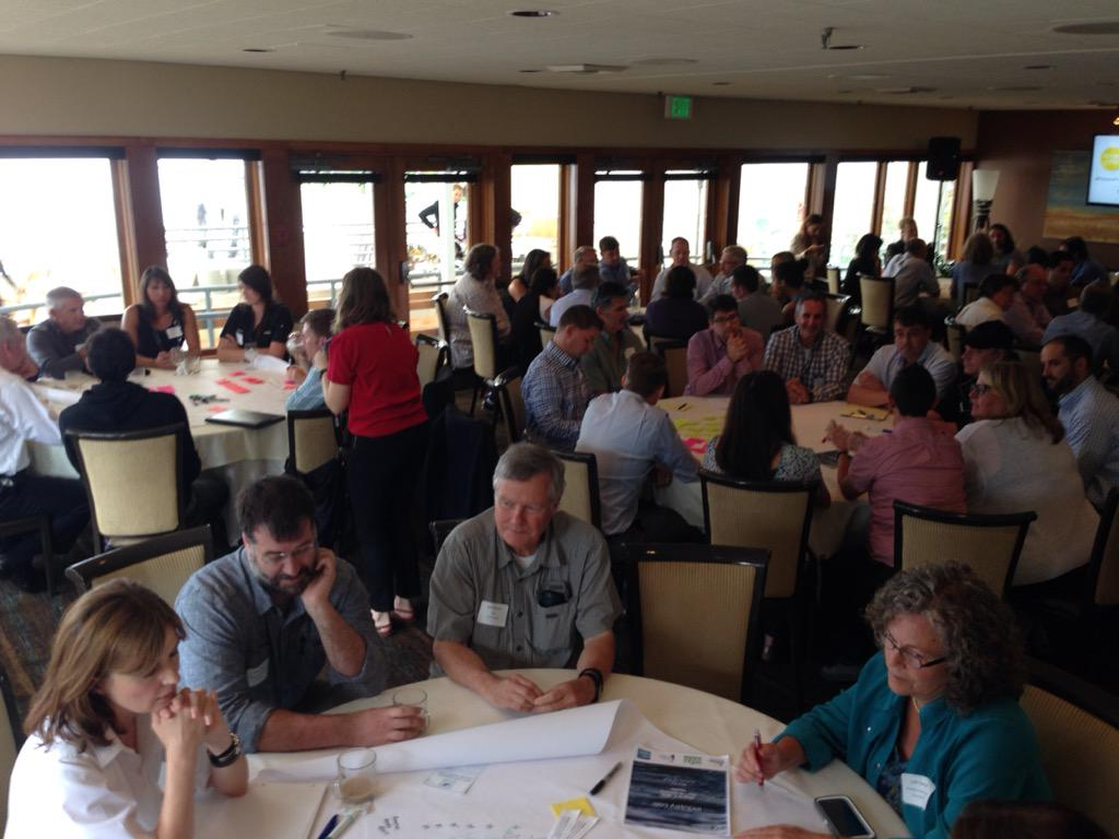 World Cafe action at #industrylabssw @FutureofFish http://t.co/RUlcACJAMo