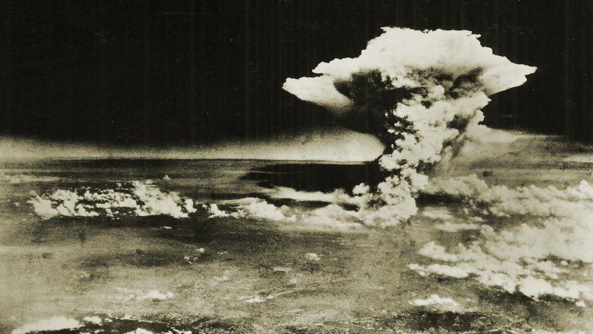 70 anni fa la prima bomba atomica a Hiroshima in Giappone