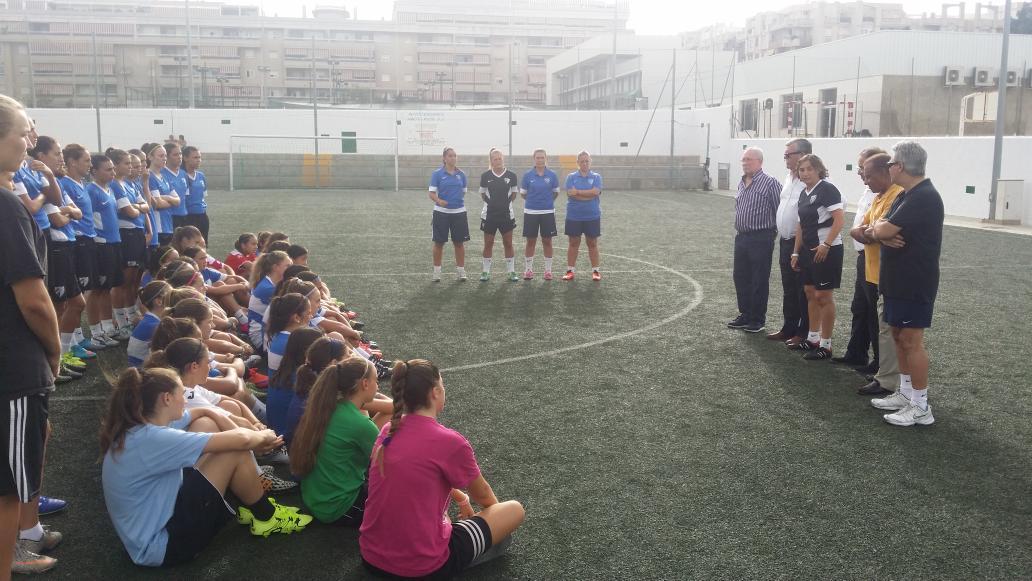 Los equipos femeninos del MálagaCF comienzan su pretemporada 15/16 CLrMiO1WsAAz7ne