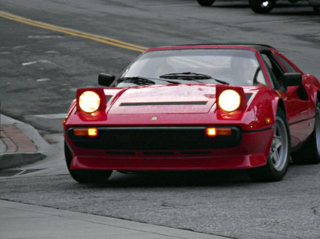 Classic Rides בטוויטר Ferrari 308 Gts The Bold Pop Up Headlights Make This Retro Car Stand Out Amongst Others Photo Cred Brian Matthews Http T Co Ltzh55f3nx