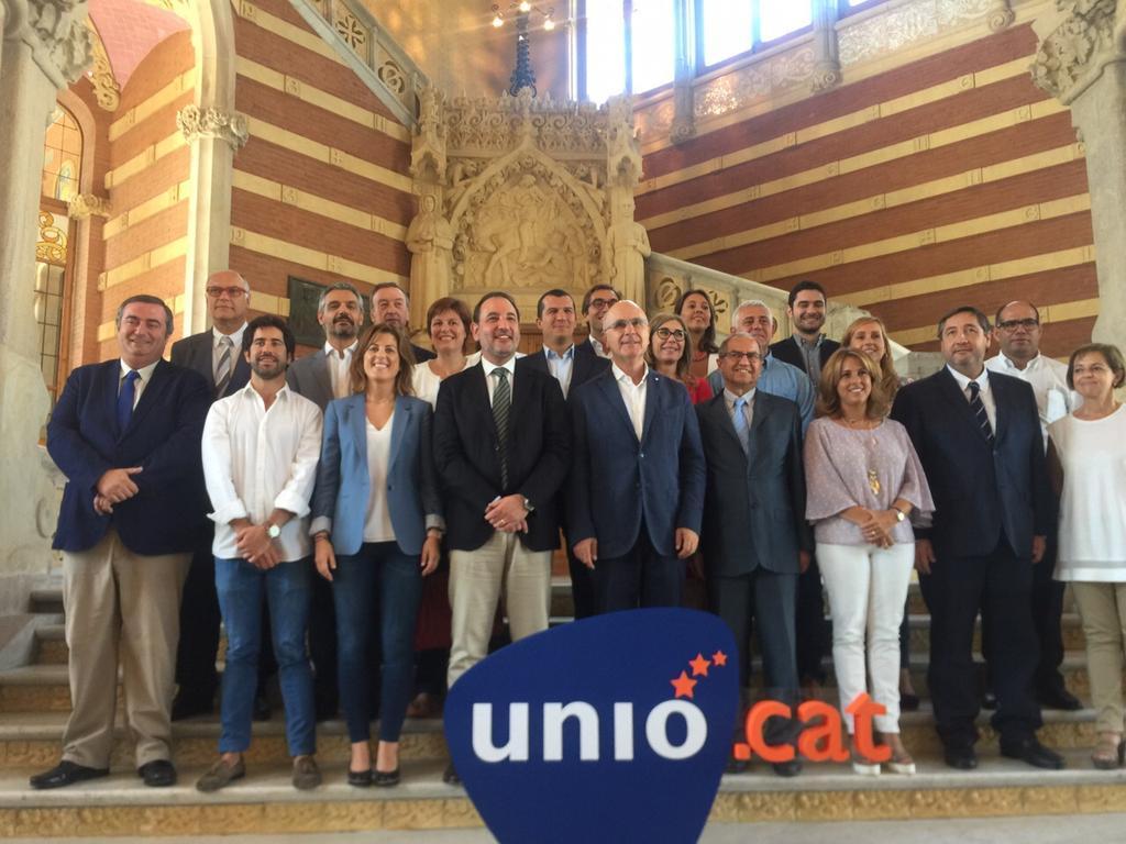 Em presento de candidat al Parlament amb Unió Democràtica de Catalunya @unio_cat http://t.co/Wwmg3QC6wg