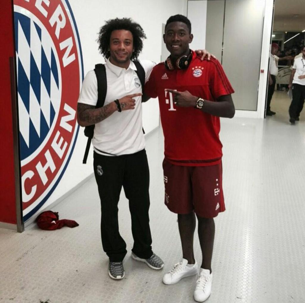 """Bayern & Germany on Twitter: """"David Alaba and Marcelo http://t.co ..."""