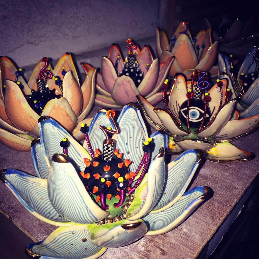 Sue Tsai On Twitter Newest Batch Of Lotus Flower Bombs For