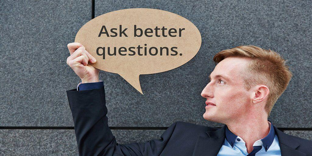Ask better questions #thoughtleadership http://t.co/hIpxgWjnfh