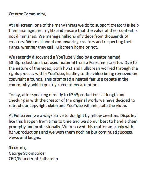 Some thoughts regarding @h3h3productions http://t.co/we5flNwRQA