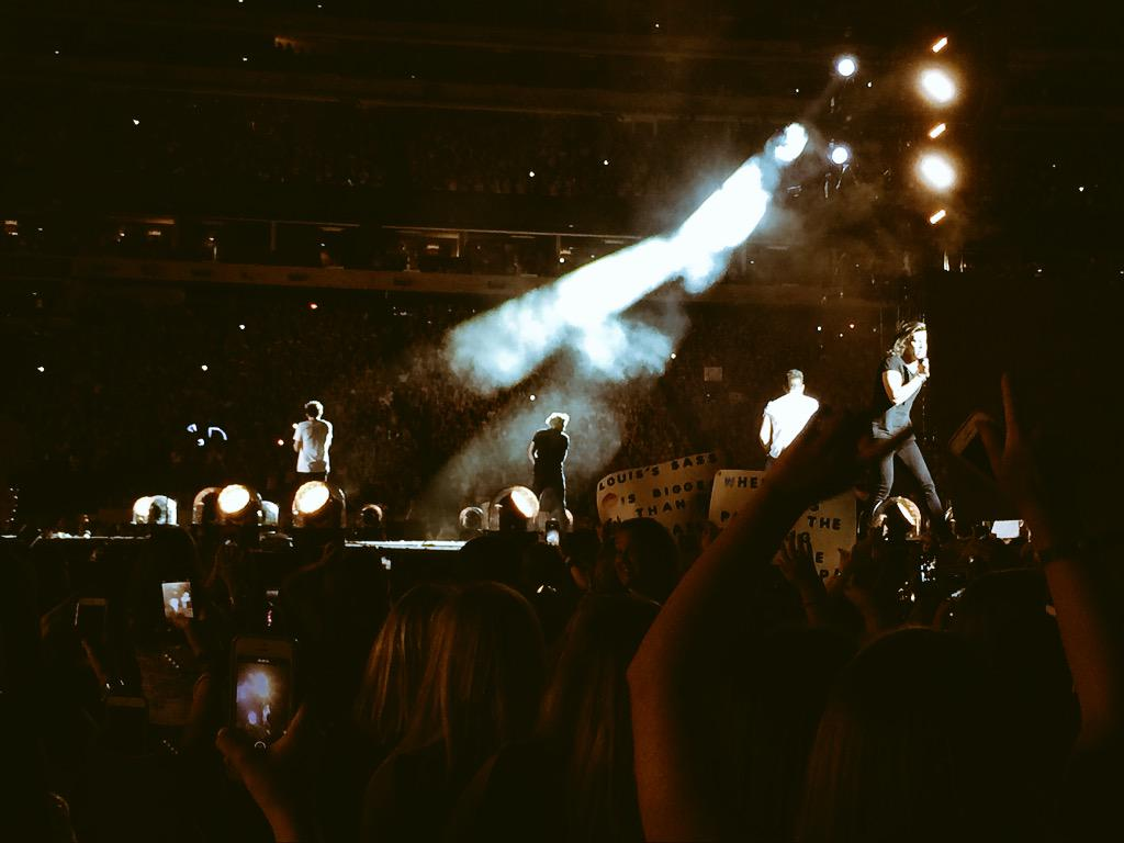 #OneDirection gave us more feels than we knew to be possible tonight. #OTRAMETLIFE #Directioners