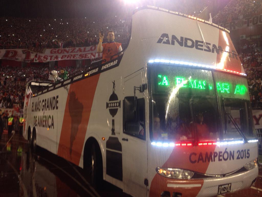 River Campeón de América 2015!!! 3 - 0