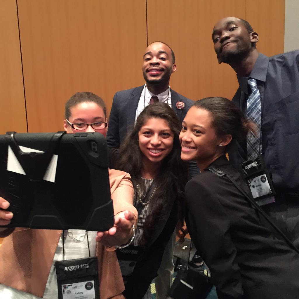 Impressive recruits for #NABJ40 in Minneapolis. The students are enjoying the experience after a full production day http://t.co/fjRA8jaCQD