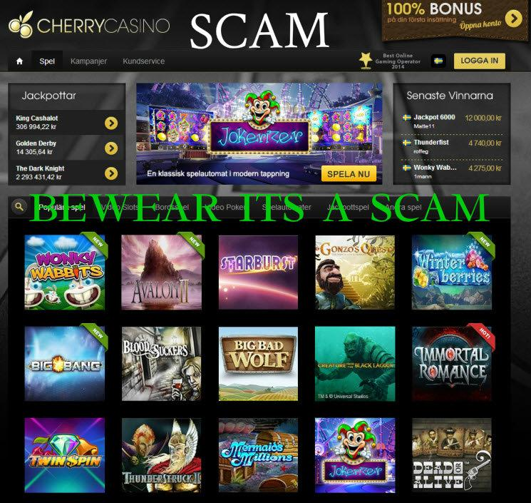 Casino king scam accept account card credit casino merchant