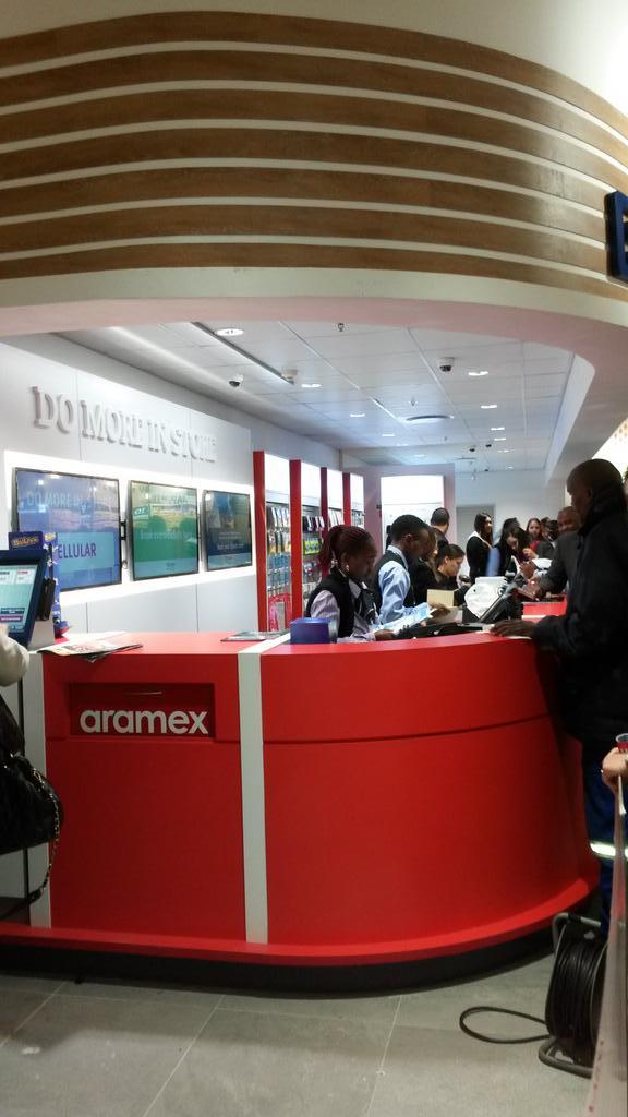 "Aramex South Africa on Twitter: ""The #newlook #Aramex Drop Box ..."