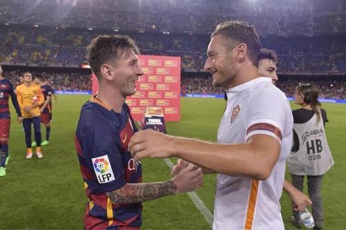 Totti Praises Messi And Barça
