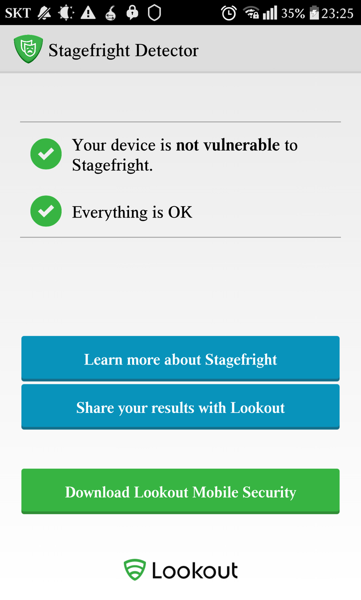 "Steve Gibson on Twitter: """"Stagefright Detector"" Test your ..."