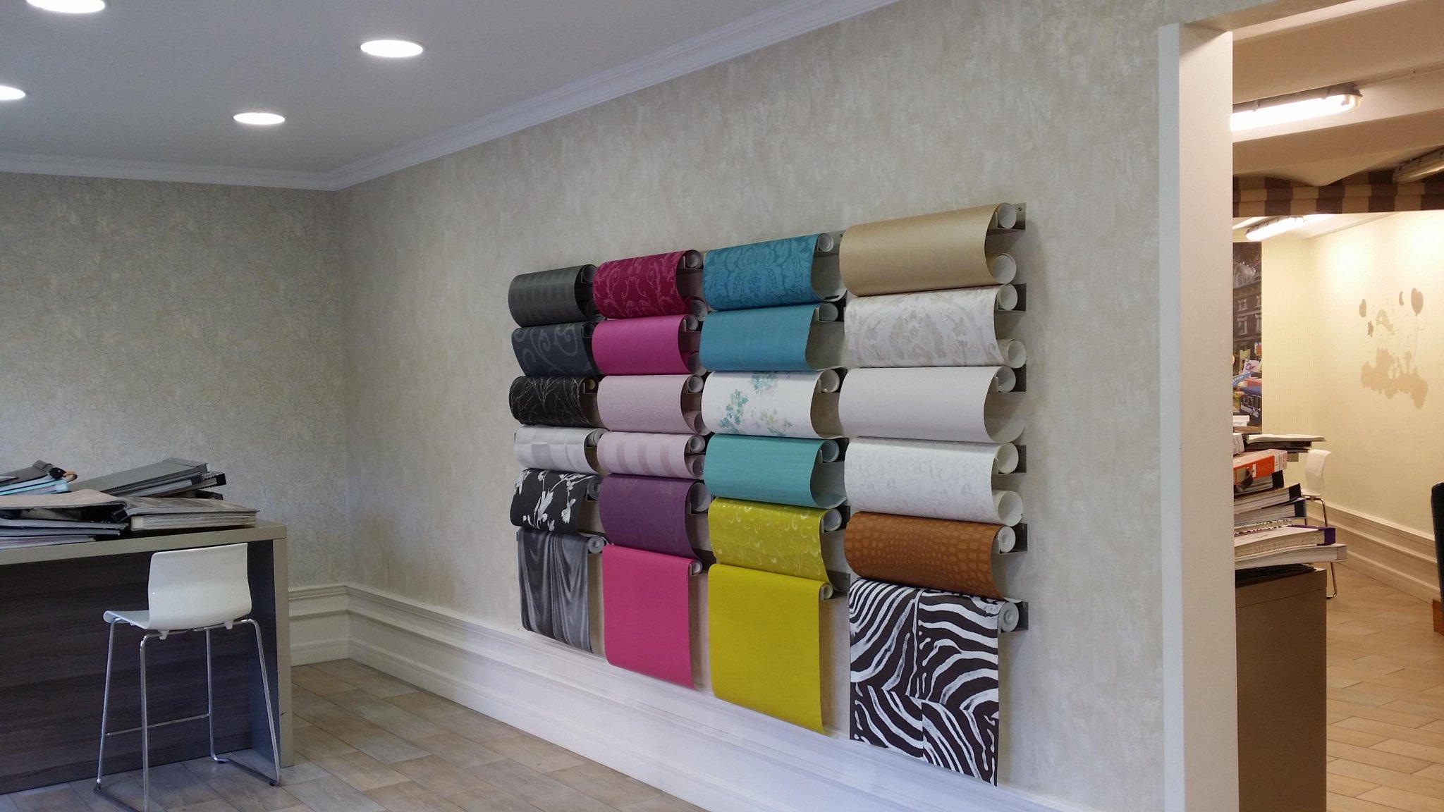 Papel pintado bcn on twitter papel pintado showroom - Papel pintado barcelona ...
